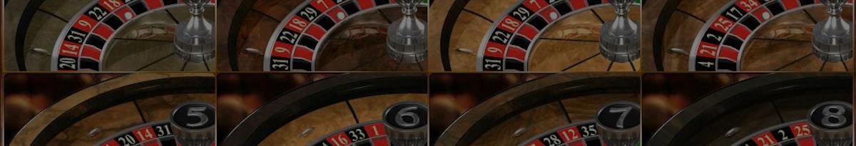 Roulette med flera hjul